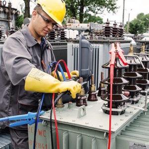 Контрольный разряд аккумуляторных батарей Электролаборатория Контроль состояния силовой части и изоляции силового масляного трансформатора