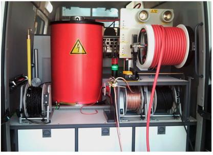 Контроль состояния силовой части и изоляции силового сухого трансформатора
